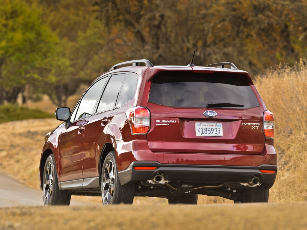 2013 Subaru Forester 2.0 XT USA