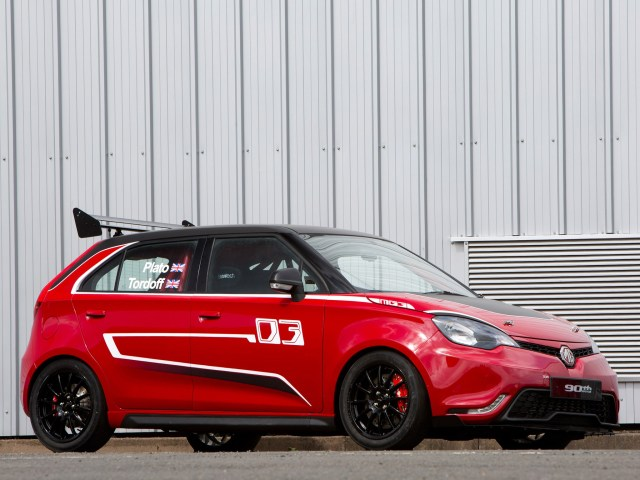 2014 MG MG3 Trophy Concept