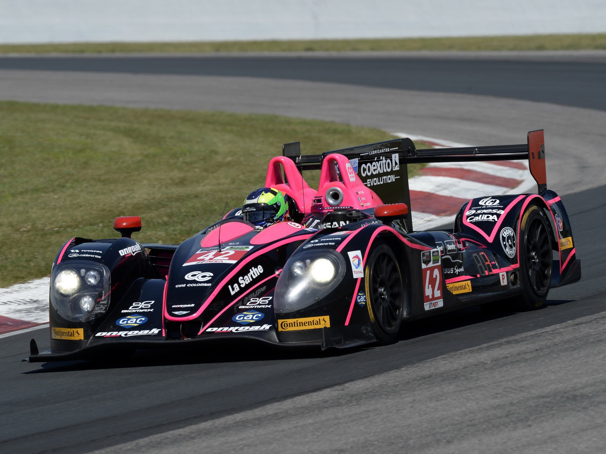 Morgan LMP2 Nissan (2014)