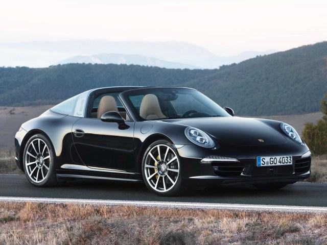 2014 Porsche 911 Targa 4s 991