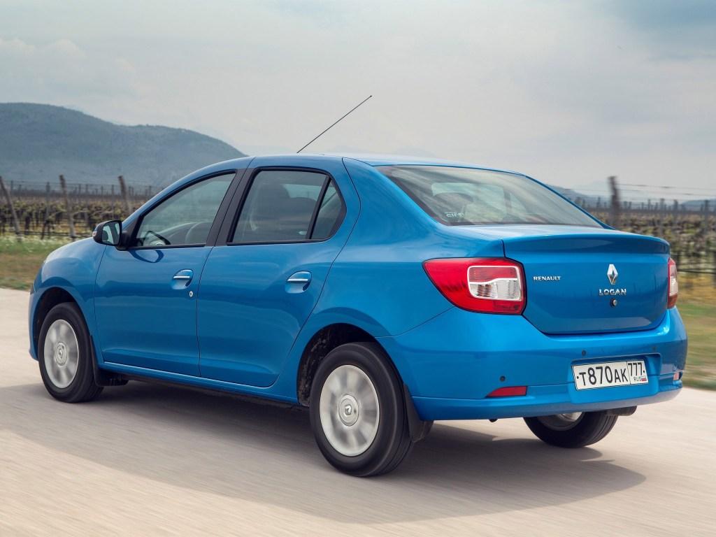 2014 Renault Logan Russia