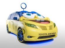2014 Toyota Sienna Sponge Bob Movie