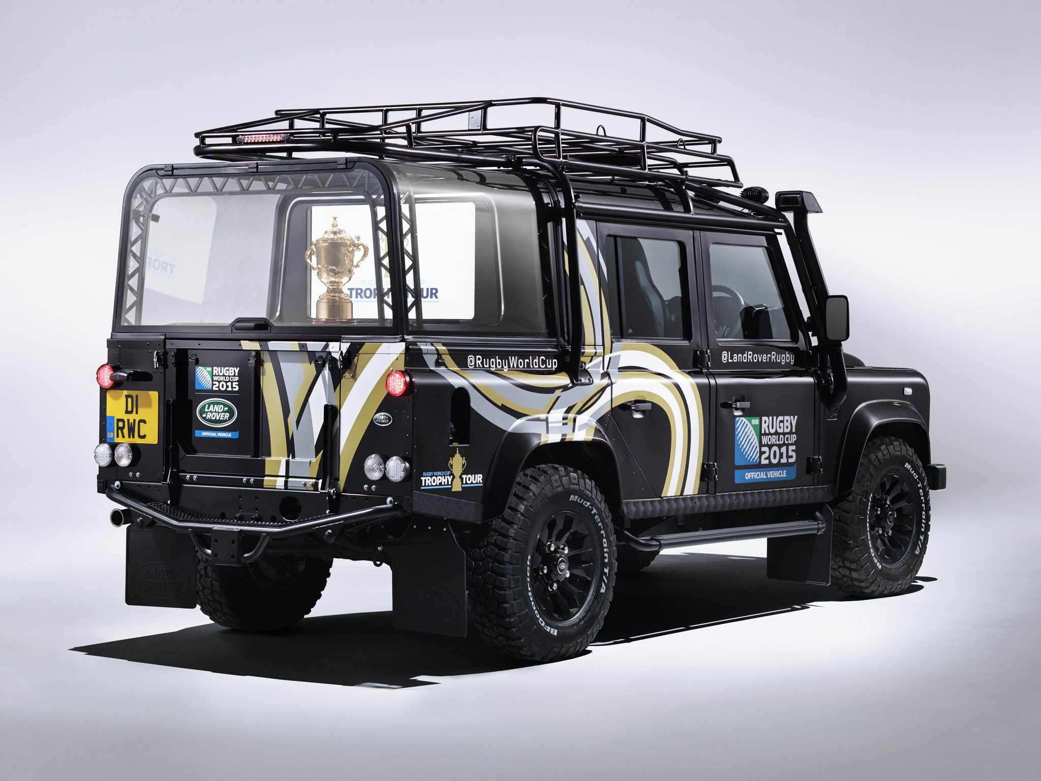 2015 Land Rover Defender 110 Rugby World Cup