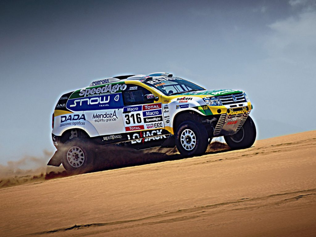 2015 Renault Duster Dakar Rally