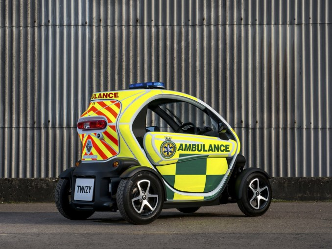 2015 Renault Twizy ZE-Cargo Ambulance