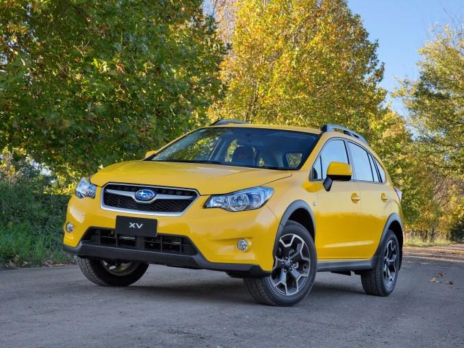 2015 Subaru XV Sunshine Yellow