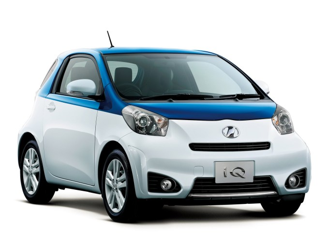 2015 Toyota IQ Leather Package Gran Blue