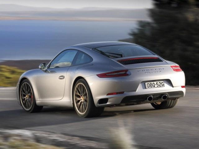 2016 Porsche 911 Carrera S Coupe 991 Australia