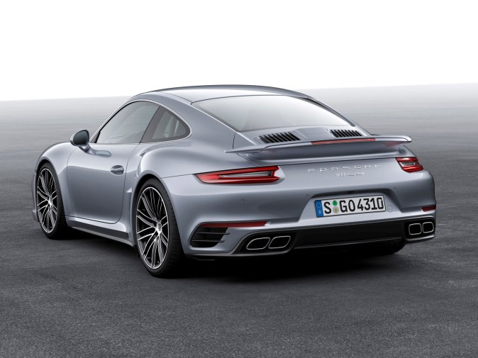 2016 Porsche 911 Turbo Coupe 991