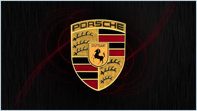 L'emblème de Porsche