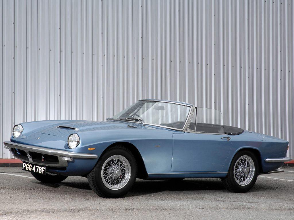 1963 Maserati Mistral Spyder