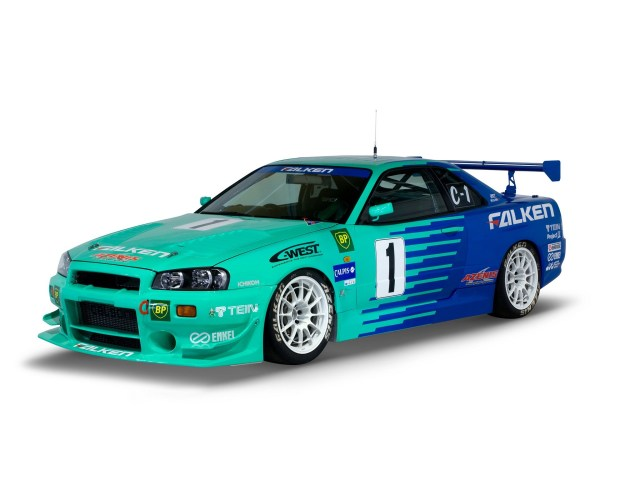 1999–2003 Super GT - Nissan Skyline GT-R JGTC Race Car BNR34