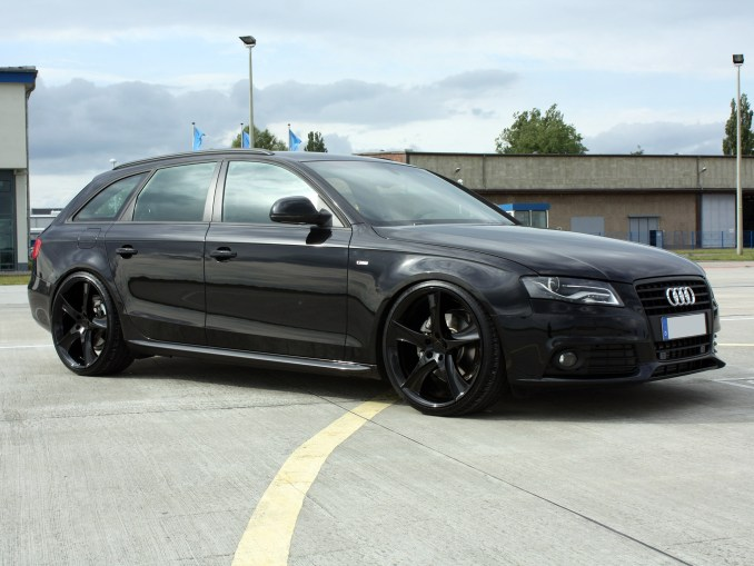 2009 Avus-Performance - Audi A4 Avant Black Arrow