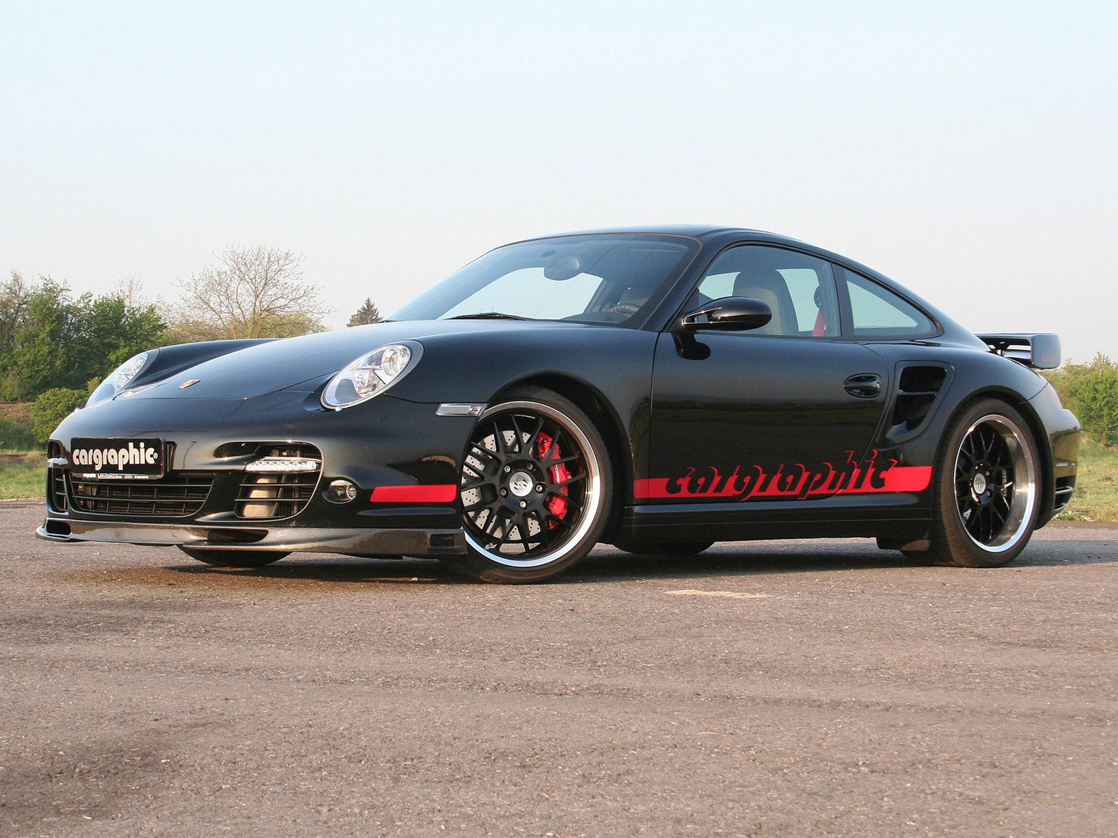 2009 Cargraphic - Porsche 911 Turbo RSC 997