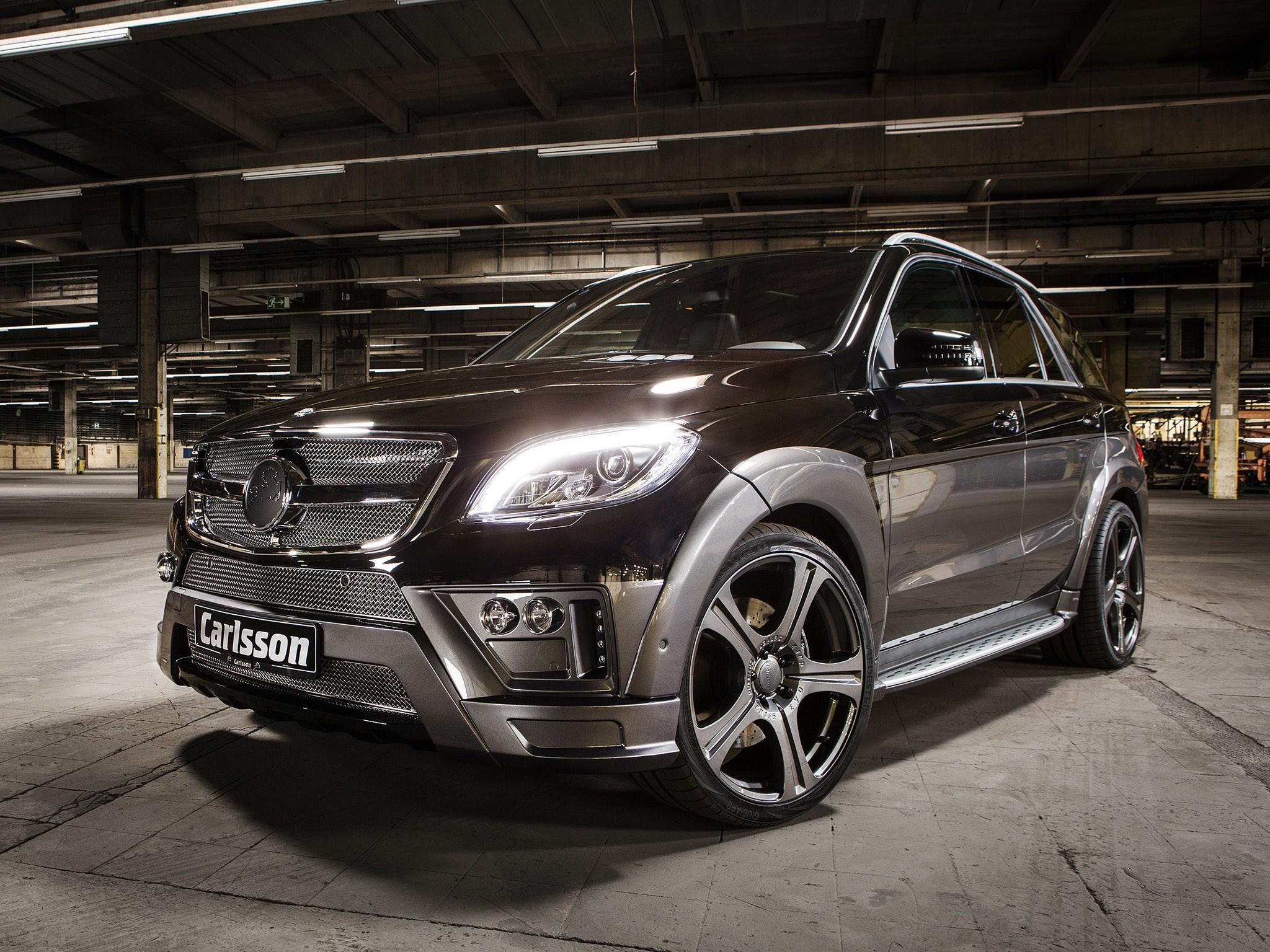 Mercedes ML CML Royal Revox W166 (2013) - Carlsson