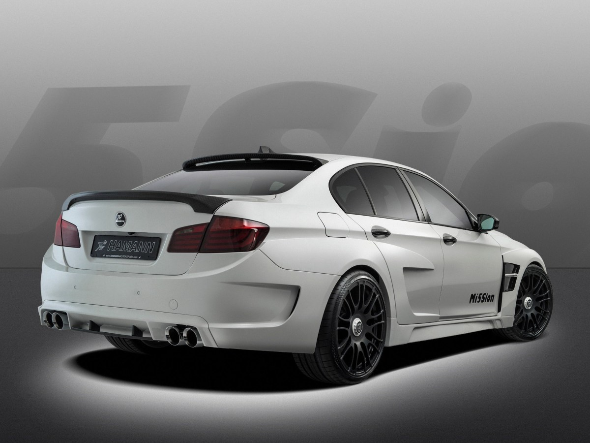 2013 Hamann - Bmw M5 Mission F10