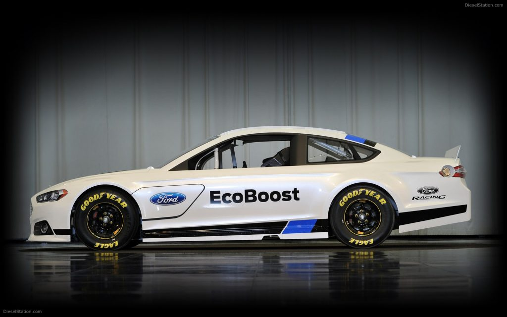2013 Nascar Ford Fusion Racing Car