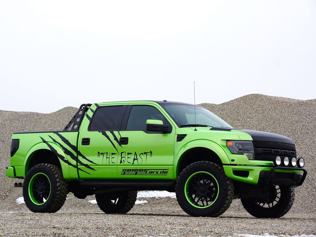 2014 Geigercars - Ford F150 SVT Raptor Super Crew Cab Beast Edition