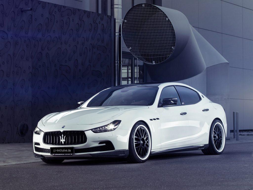 2015 Maserati Ghibli Evo G and s exclusive