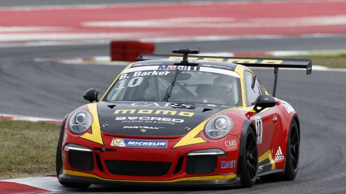2015 Porsche Supercup - Barcelona - Ben Barker