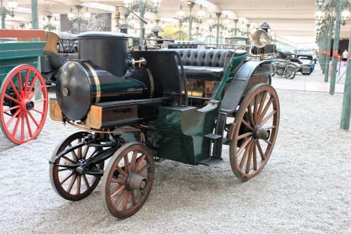 1878 Jacquot Tonneau Vapeur - Mulhouse