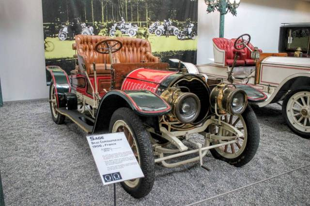 1906 Sage Biplace Coupe 24 HP