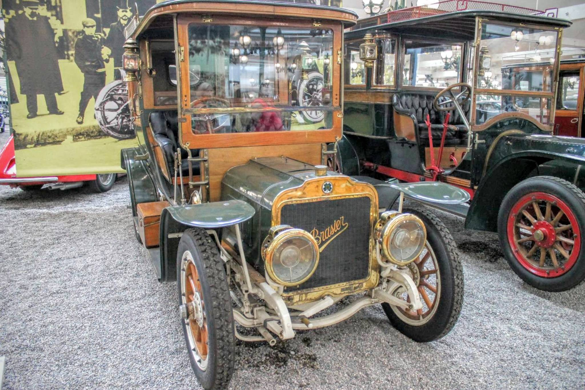 1908 Brasier Coupe Chauffeur KD