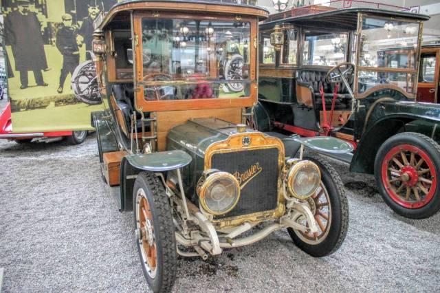 1908 Brasier Coupe Chauffeur KD