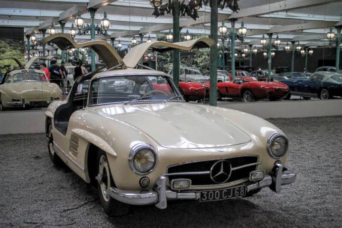 1955 Mercedes Benz Coupe 300 SL