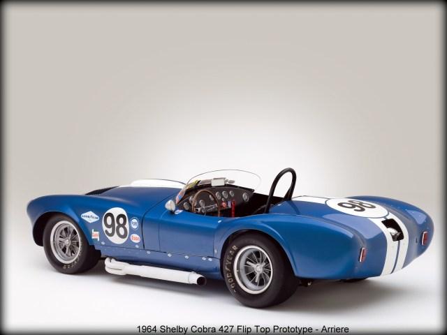 1964 Shelby Cobra 427 Flip Top Prototype