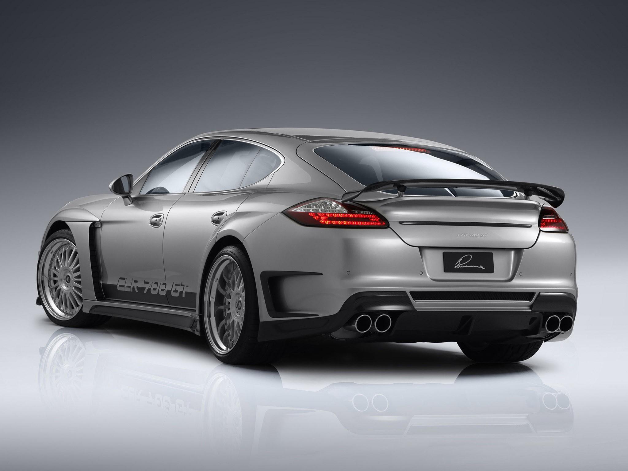 2010 Lumma Design - Porsche Panamera CLR 700 GT