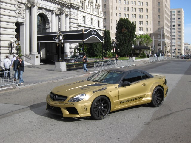 2010 Misha Designs - Mercedes SL Widebody