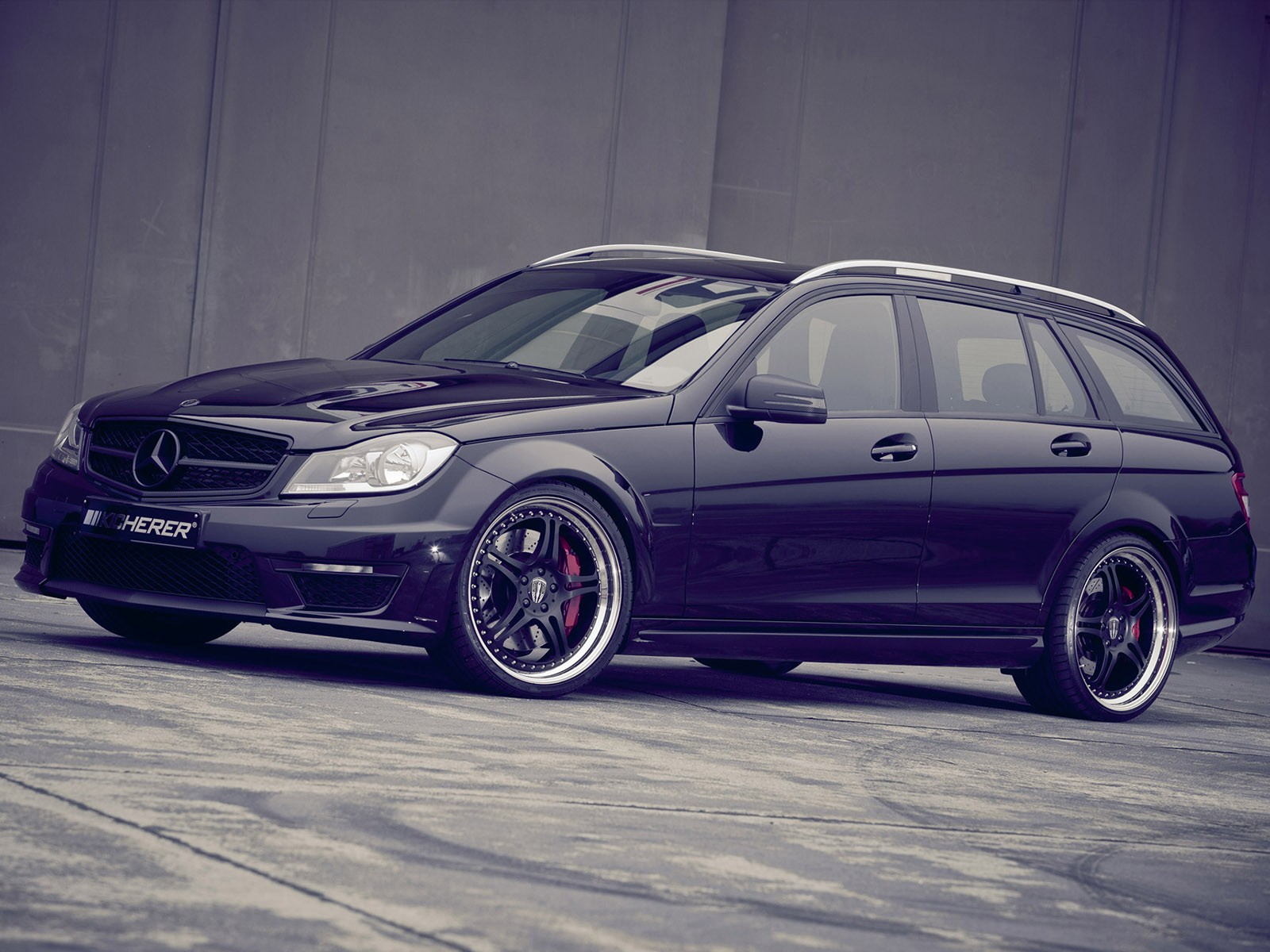 2011 Kicherer Mercedes C Klasse C63 T Supersport