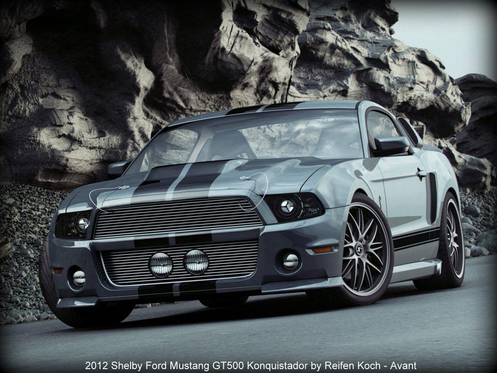 2012 Shelby Ford Mustang GT500 Konquistador by Reifen Koch
