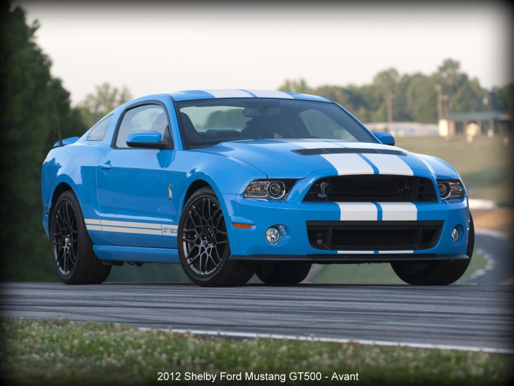 2012 Shelby Ford Mustang GT500