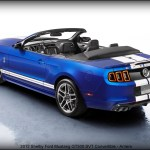 2012 Shelby Ford Mustang GT500 SVT Convertible