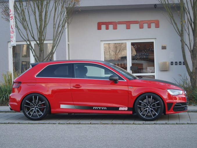 2013 MTM - Audi S3 With BBS XA Wheels