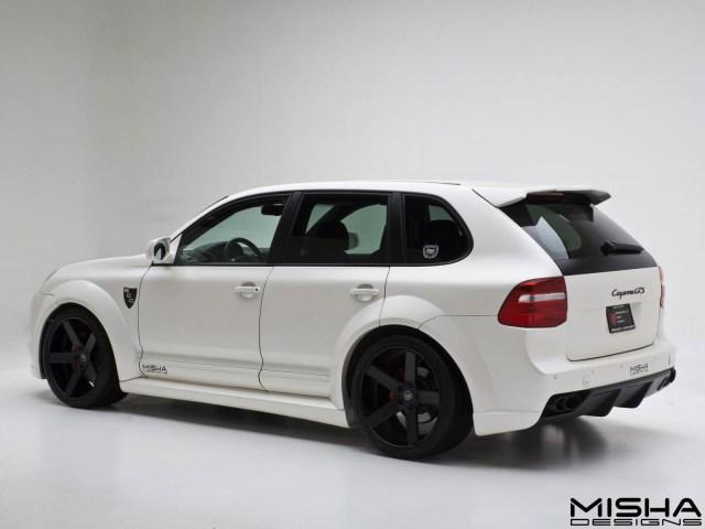 2013 Misha Designs - Porsche Cayenne Wide Body