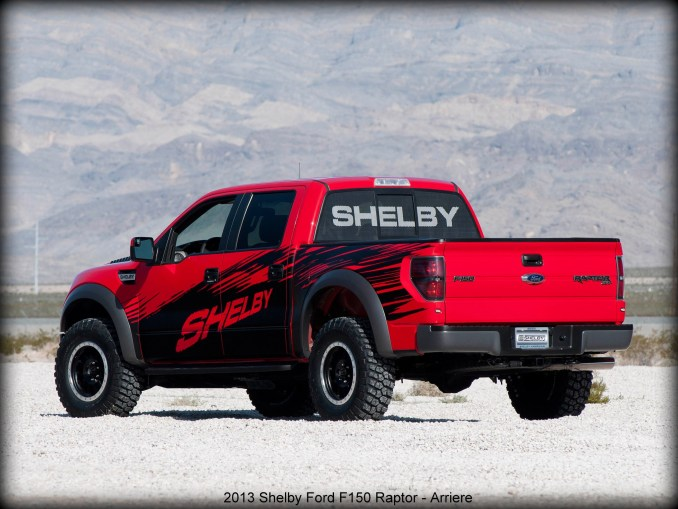 2013 Shelby Ford F150 Raptor