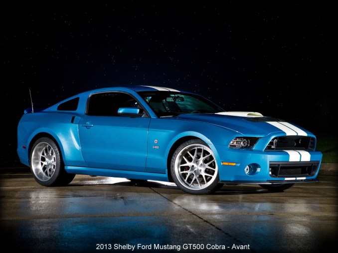 2013 Shelby Ford Mustang GT500 Cobra