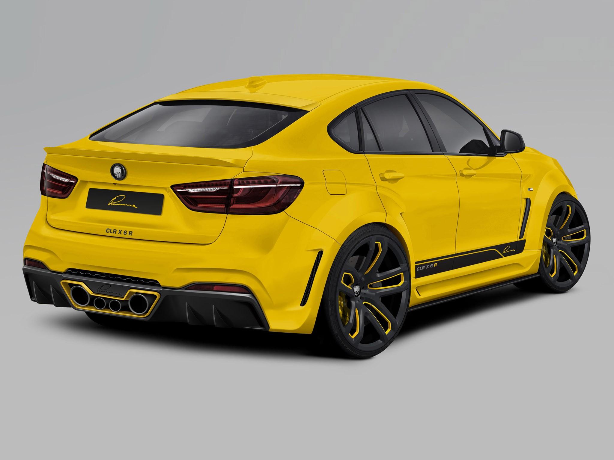 2014 Lumma Design - Bmw X6 CLR R