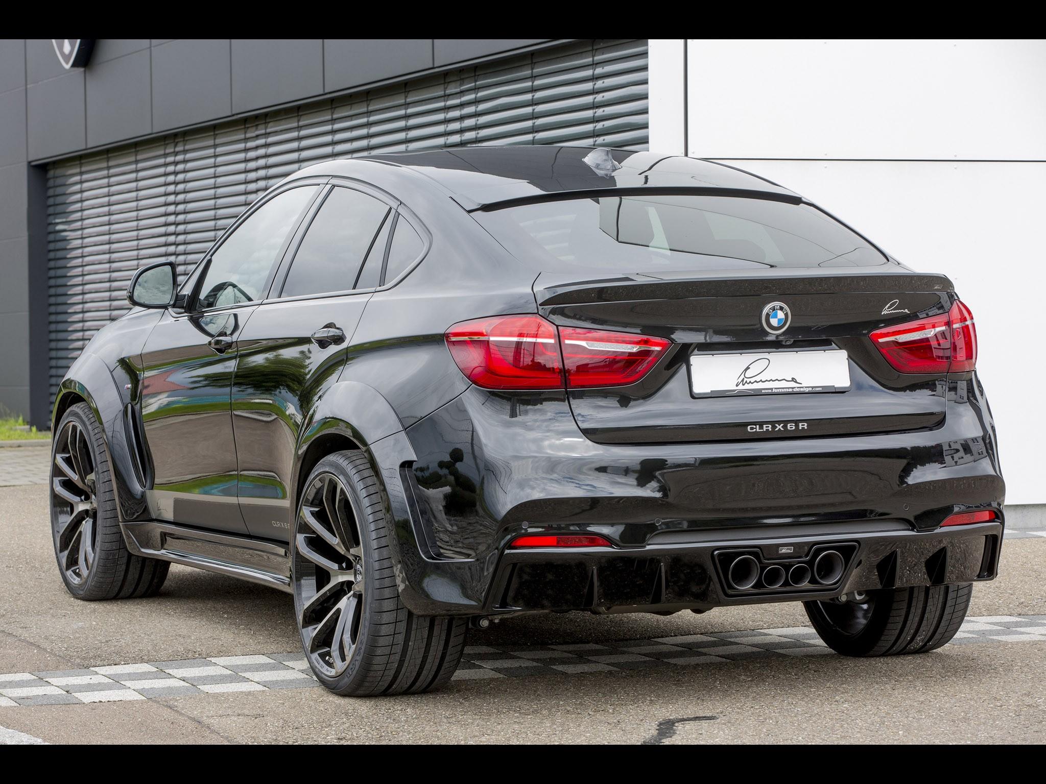 2015 Lumma Design - Bmw X6 CLR X6R F16