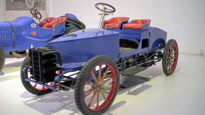 Serpollet Type H 1902 - Musée Automobile de Mulhouse