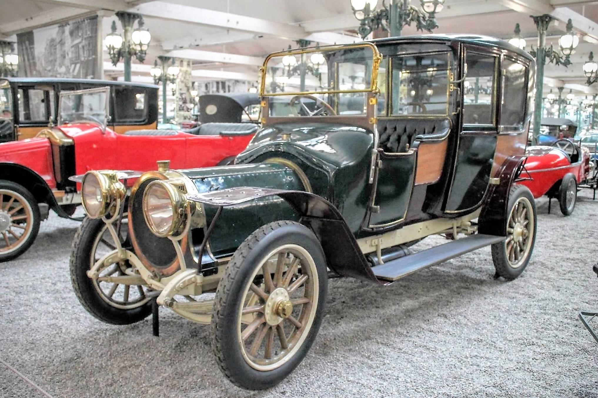 Delaunay-Belleville HB6 coupé-de-ville de 1912