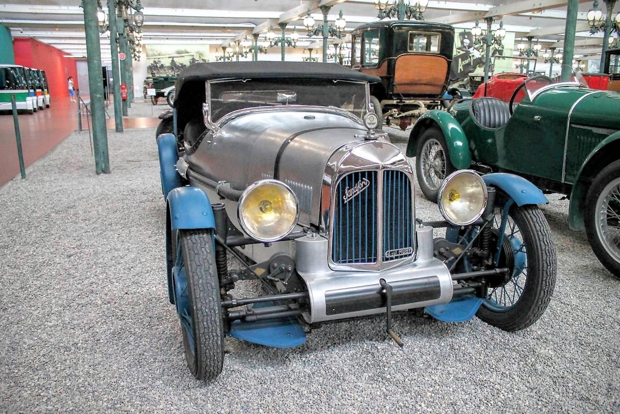 Sandford Quad with Ruby 1100 4 cylinder 1934