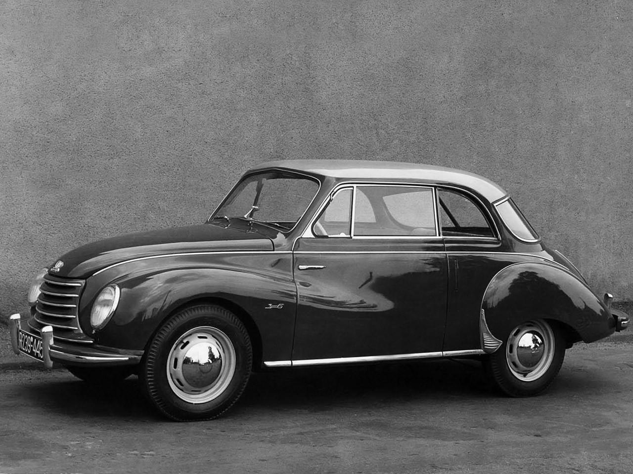 1953 DKW 3=6 Sonderklasse Limousine Spezial F91