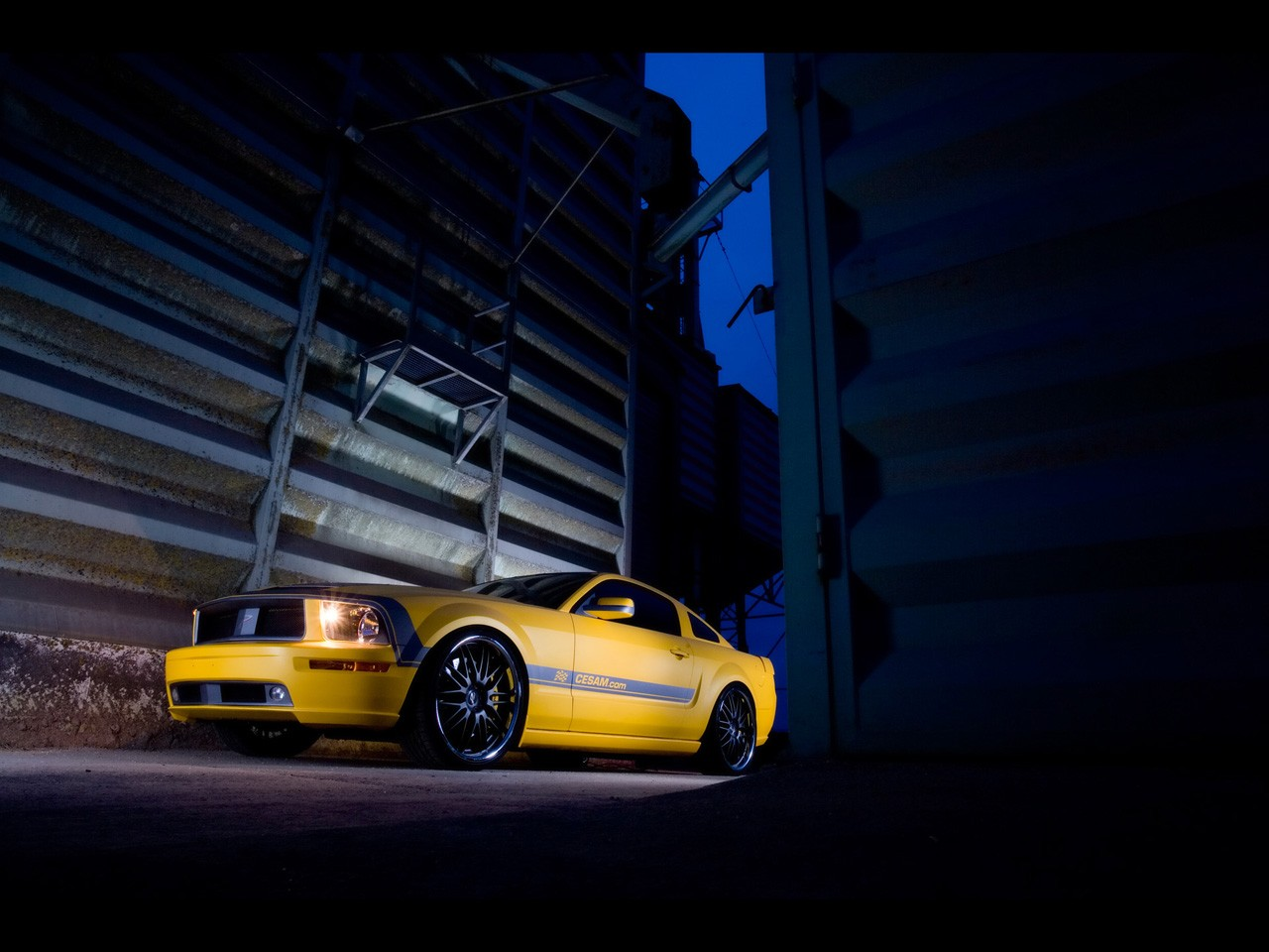Cesam Ford Mustang 2007 - Parotech