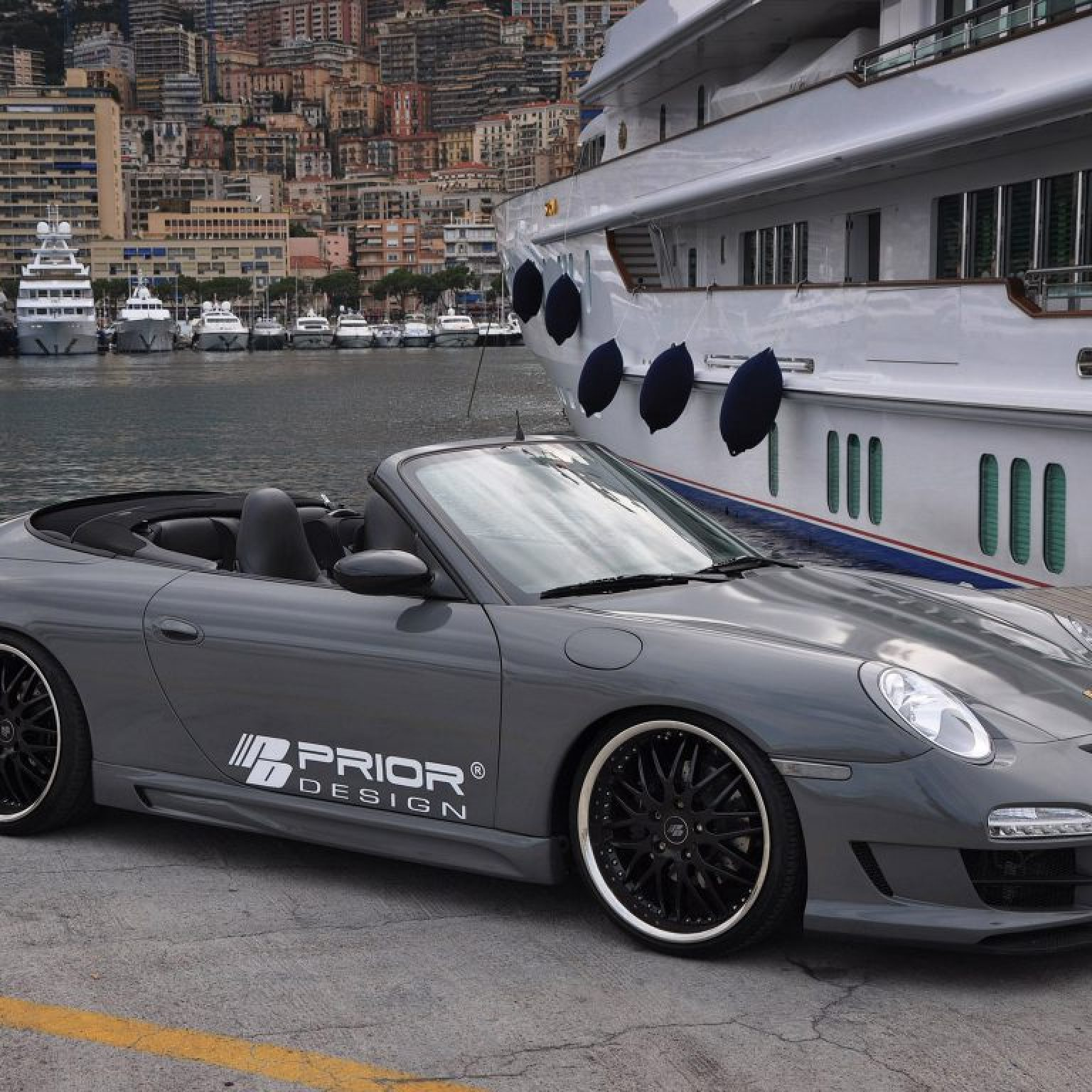 2010 Prior Design - Porsche 911 996 PD3 Cabriolet