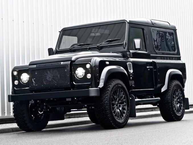 2012 Project Kahn Land Rover Defender Harris Tweed Edition