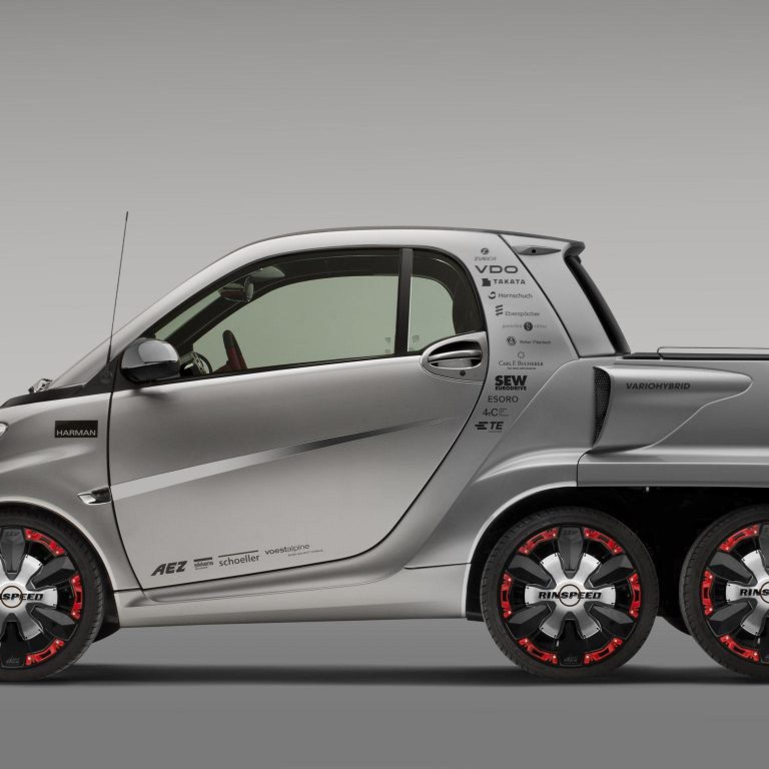 2012 Rinspeed Dock + Go Concept